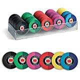 Juego Ceramic Poker Chips Set/Fiches incl. 100 Poker Chips 14 gr. with Tournament Values - Multicolor