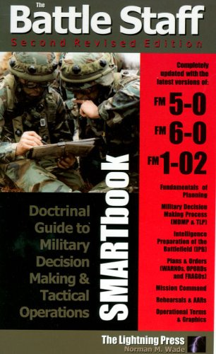 Battle Staff Smartbook: Doctrinal Guide to Military Decision Making And Tactical Operations