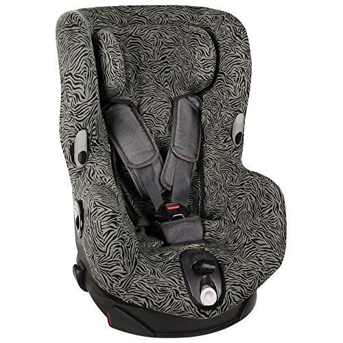 Bezug Maxi-Cosi Axiss Kindersitz Grün Zebra Schweißabsorbierend und weich für Ihr Kind Schützt vor Verschleiß und Abnutzung Öko-Tex 100 Baumwolle