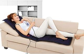 Masaje de cuerpo completo con calefacción Colchón, plegable eléctrica Masaje Shiatsu Cojín incorporado en la memoria de algodón de alta elasticidad para aliviar el dolor de la pierna Volver lumbar