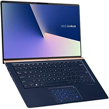 "ASUS ZenBook UX333FA-DH51 Laptop (Windows 10, Intel Core i5-8265u 1.6GHz, 13.3"" LCD Screen, Storage: 256 GB, RAM: 8 GB) Dark Royal Blue"