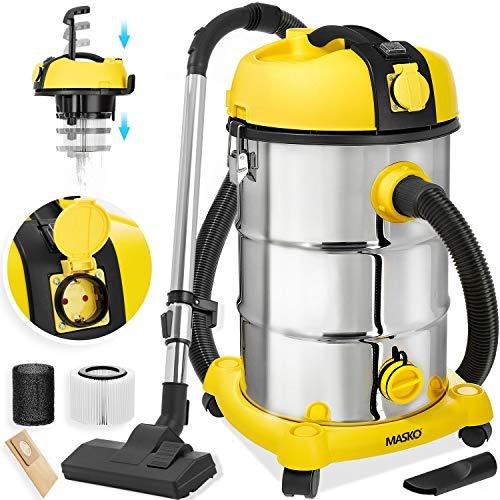 Masko Industrial vacuum cleaner 2300W yellow