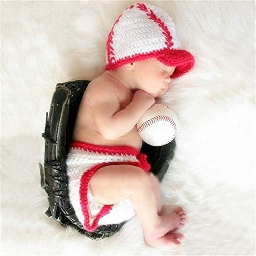 DHTOMC Baby-Fotografie Bekleidung Milch Rohbaumwolle Kinder Fotografie Bekleidung Baby Hundert Tage Foto Kleidung Klage-Baby-Kleidung Zubehör (Color : Photo Color, Size : One...