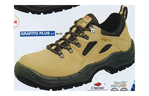 Panter 436411400 - GRAFITO PLUS S1P BEIGE Talla: 45