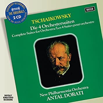 Tchaikovsky: Four Suites For Orchestra