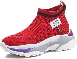 BalaMasa Womens Backpacking Trail-Runners Logos Urethane Walking Shoes ABM12732