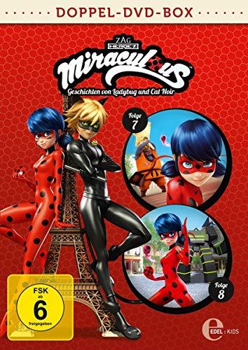 Miraculous - Geschichten von Ladybug und Cat Noir - Doppel-DVD-Box (Folgen 7 + 8)