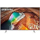 Samsung Q64R Silver 138 cm (55 Zoll) 4K QLED Fernseher (Q HDR, Ultra HD, HDR, Twin Tuner, Smart TV)