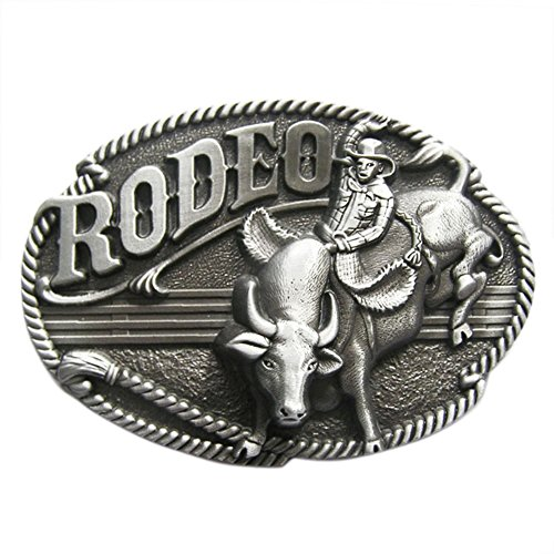 New Vintage Western Cowboy Wildlife Hebilla del cinturón Belt Buckle