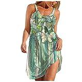 TAYBAGH Short Dresses for Women Summer Women Summer Blue and White Porcelain Strapless Boho Maxi Long Dress