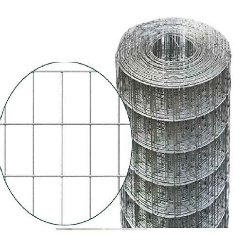 MARRA EDILE 25 mt Rotolo Rete ELETTROSALDATA ZINCATA per Recinzione Maglia 50X75 mm 5X7,5 cm Filo ø 1.8 mm Altezza 100 cm MARRAGROUP MARRAEDILE