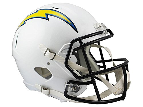Riddell NFL Los Angeles Chargers Full Size Speed Replica Football Helmet