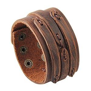 GelConnie Adjustable Braided Leather Bracelet 5