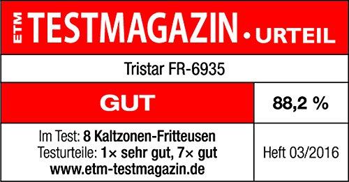 Friteuse Tristar FR-6935 – Contenance de 3 l – Puissance 2 000 W