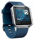 Bruni Schutzfolie kompatibel mit Fitbit Blaze Folie, glasklare Bildschirmschutzfolie (2X)