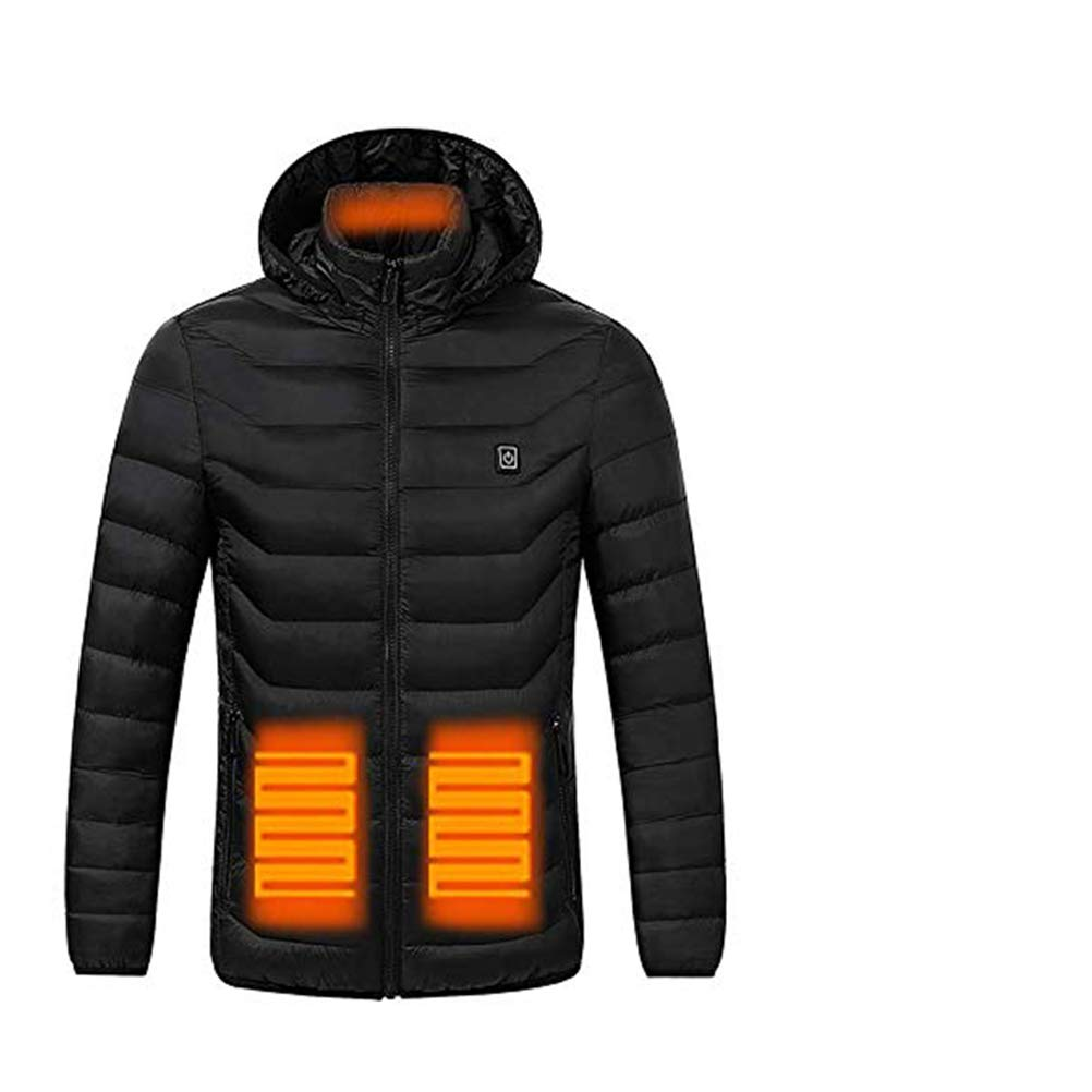 Ocamo Electric Heated Jacket Heating Thermal Clothing Riding Warm Clothing Safety Apparel with Battery and US Charger