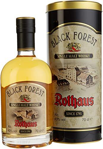 Rothaus Black Forest Single Malt Whisky mit Geschenkverpackung (1 x 0.7 l)