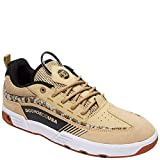 DC Shoes Men's Legacy 98 Slim S CI Low Top Sneaker Shoes Tan Camo Brown 11