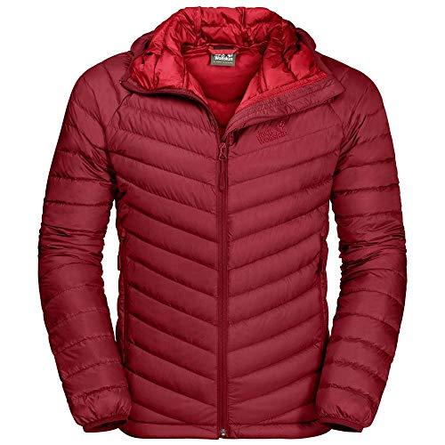 Jack Wolfskin Herren Atmosphere Jacke-1204421 Jacke, Dark Lacquer red, XL