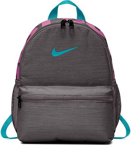 Nike Unisex – Zaino BRSLA JDI THUNDER GREY/THUNDER GREY/TEAL, taglia unica