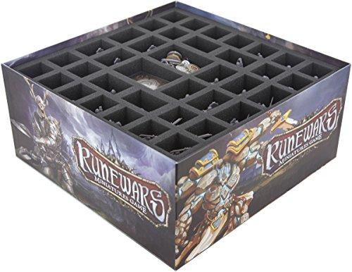 Juego de valores de Bandeja de Espuma es Compatible con Runewars Miniatures...