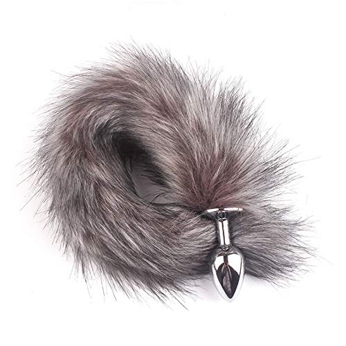 Men Pleasure Tail Long Anạl Plụg sẹx Tọy Animal Cosplay Products Hair Ball Nipple Stimulates Chest Couple Aạult Accessories-WGY