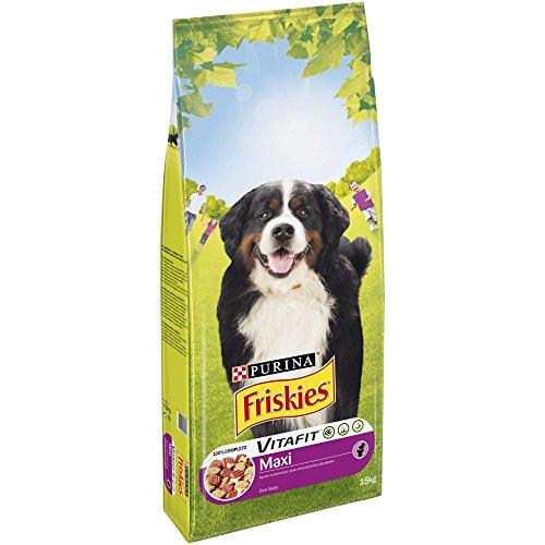 Purina Friskies Vitafit Active Pienso para Perro Maxi Buey 15 Kg ✅