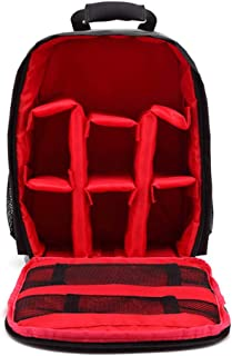 Beauenty Camera Bag, Fashion Camera Case for Digital Case Cameras Photography Travel Backpack, Multi-Function Large Capaci...