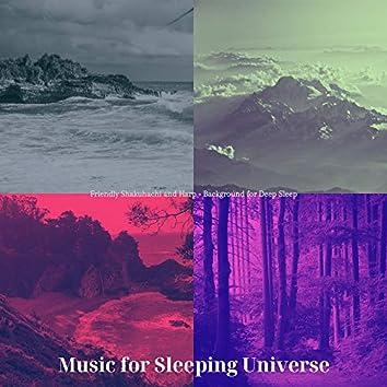 Friendly Shakuhachi and Harp - Background for Deep Sleep
