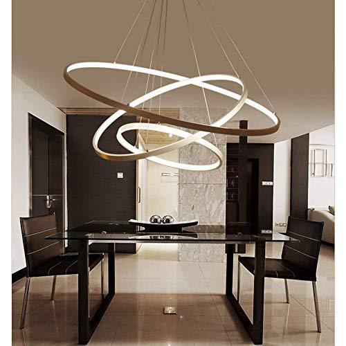 LED Acrílico Moderna Lámpara de Araña, Creativa Lámpara Regulable Luz SMD Lámpara...