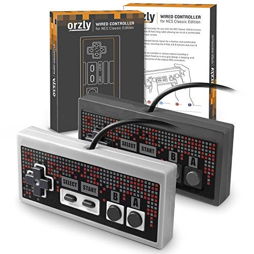 Orzly® - Mandos Nintendo NES Classic Edition PACK