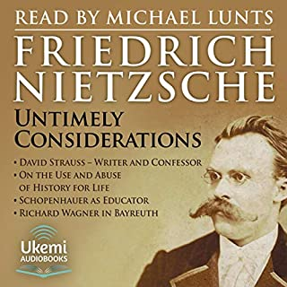 Untimely Considerations audiobook cover art
