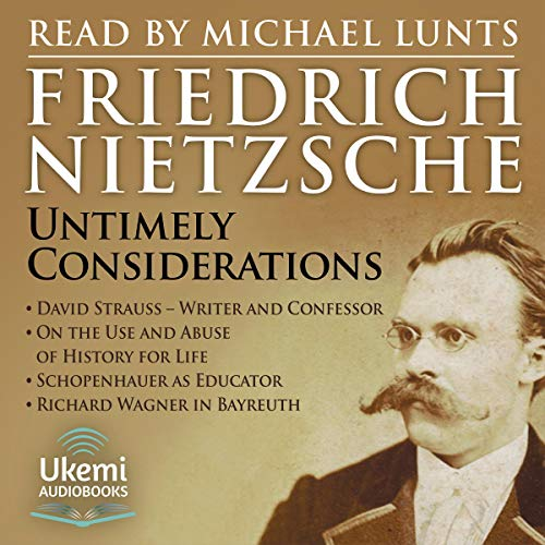 Untimely Consideratons audiobook cover art