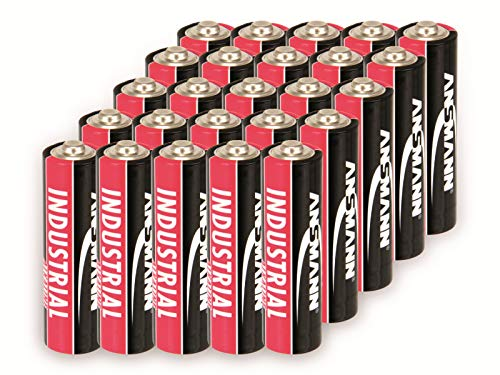 Ansmann Alkaline Batterien AA Industrial 1502-0002 (20 x Mignon AA LR6, 1,5 V, Kapazität: 2.700 mAh)