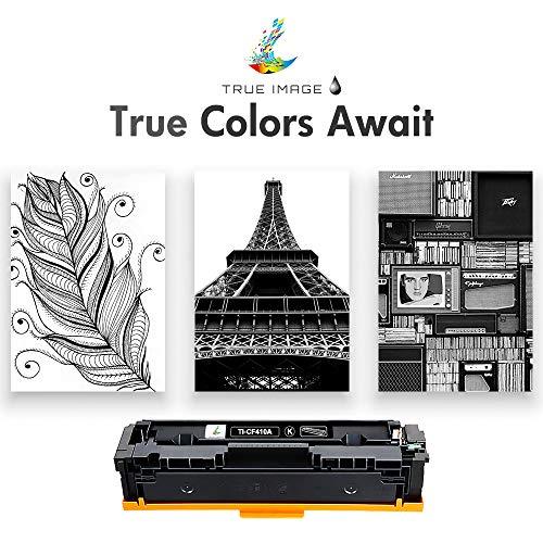 True Image Compatible Toner Cartridge Replacement for HP 410A CF410A CF410X 410X 410 Laserjet Pro MFP M477fdw M477fdn M477fnw M452nw M452dw M452dn M477 M452 (Black, 1-Pack) Photo #7