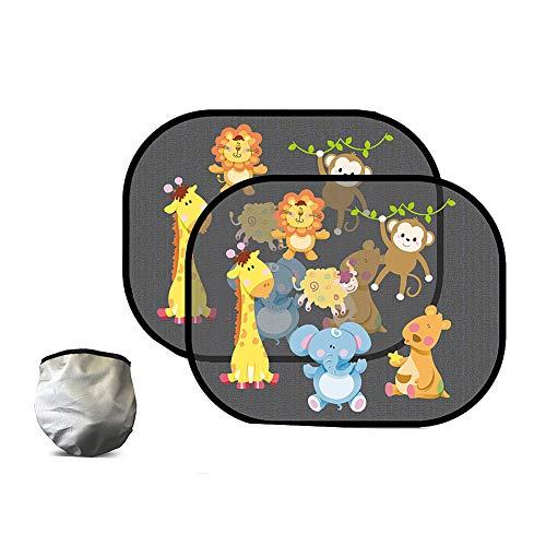 Autoruit Schaduw Auto Window Shades Voor Baby Auto Zon Screen Auto Screen Zon Protector Zon Schermen Voor Auto S Auto Zonnescherm Baby animal 2,one size