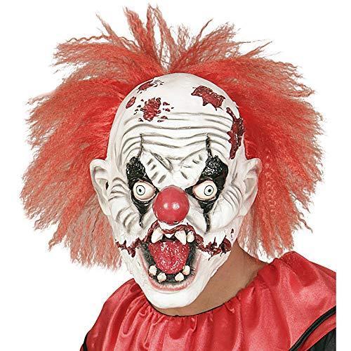 Widmann 01018 Killer Clown Masker met haar