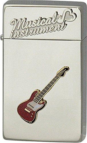 SAROME(サロメ) ガス ライター SRM 楽器 シリーズ エレキギター シルバー 700056