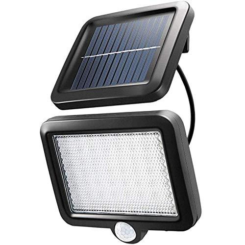 センサーライト 屋外ソーラーライト Flauder 56 LED超高輝度ソーラーライトモーションディテクター(5Mケーブル)付き IP65防水 防犯ライト ソーラー人感 センサーライト自動点灯 屋外照明 庭 玄関 ガーデンライト 駐車場 停電緊急対策 防災