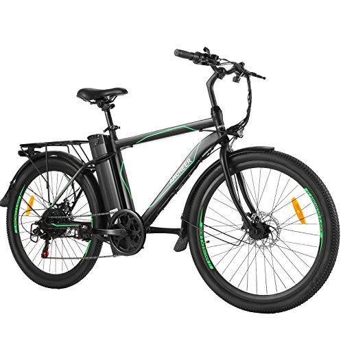 ANCHEER 26' E-Bike mit Abnehmbarer 10Ah...