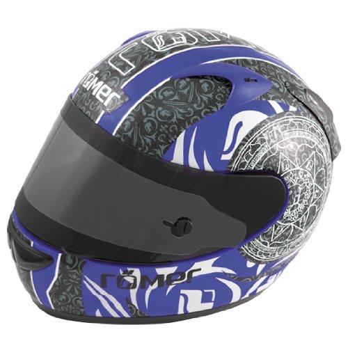 Römer RR50213_XL Mandala Motorradhelm Größe XL Schwarz / Blau
