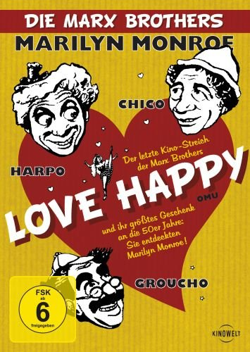 Die Marx Brothers - Love Happy (OmU)