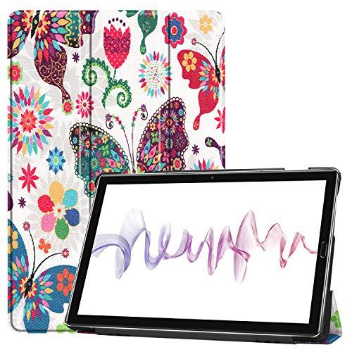Amore Funda Carcasa para Huawei Mediapad M6 10.8 2019 con Soporte Función y Auto Sueño/Estela