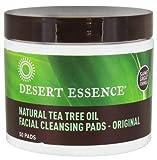 Desert Essence - pulizia pastiglie con Tea Tree Oil naturale viso - tamponi 50 PREZZO FORTUNATO