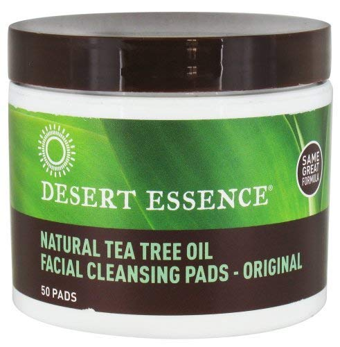 <strong>Desert Essence Natural Tea Tree Oil Facial Cleansing Pads</strong>