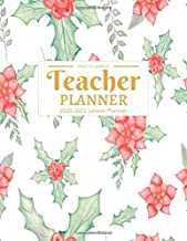 Teacher Planner 2020-2021: Calendar Schedule Organizer and Journal Notebook With Inspirational Quotes And Navy Lettering C...