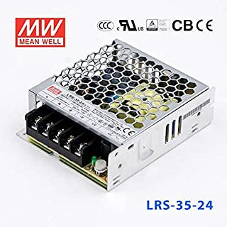 MEAN WELL LRS-35-24 Switching Power Supply 35W 24V 1.5A Constant Current Ultra-thin CCC Certification