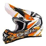 O'NEAL 3 Series Motocross Enduro MTB Helm Shocker orange/weiß/schwarz 2018 Oneal: Größe: XXL (63-64cm)
