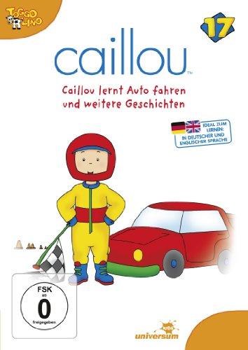 Caillou 17: Caillou Lernt Auto Fahren und Weitere [Import allemand]