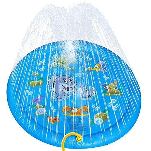 Esterilla de agua para niños, para perros y juguetes, para jugar al aire libre